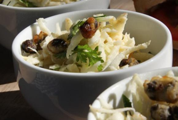 根セロリのポテトサラダ